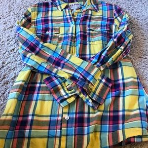 Old Navy women's flannel shirt